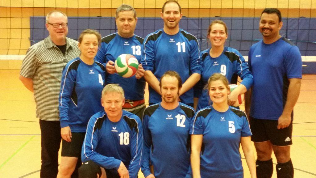 Mannschaft Volleyball-MixedII KTB 1893