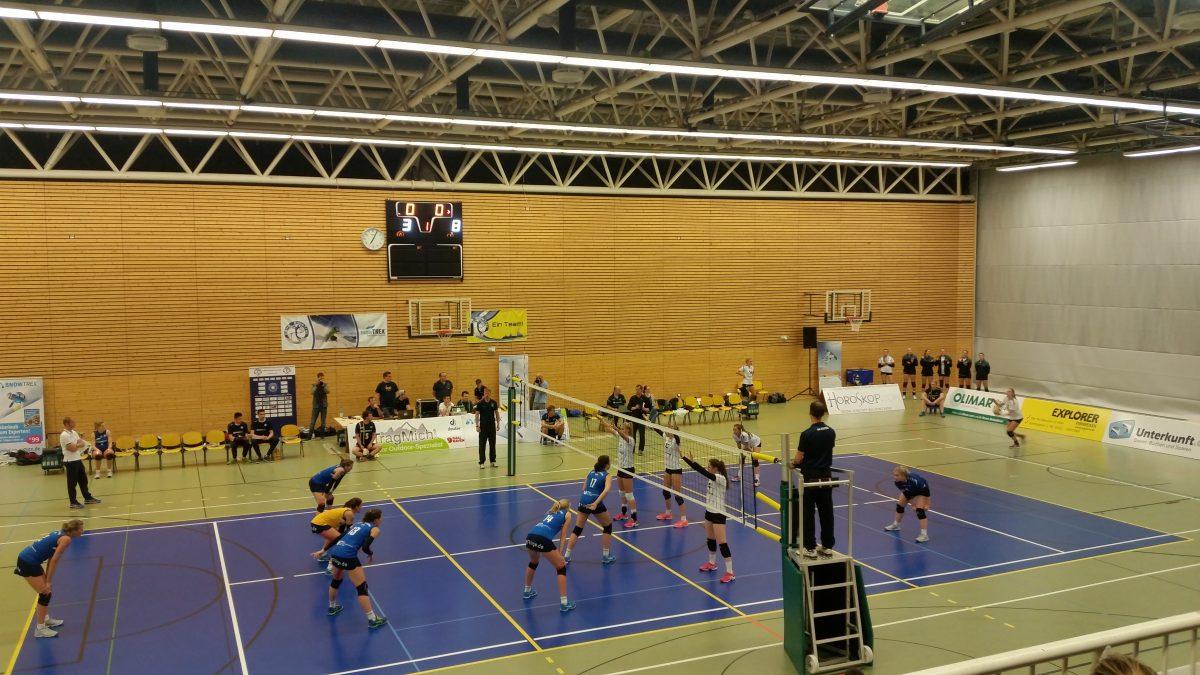 Volleyball ist geil (auch das Zuschauen)