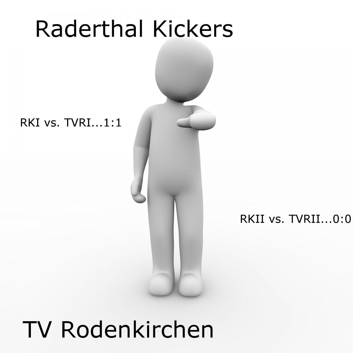 Zwei Unentschieden für die Kickers auf den Poller Wiesen
