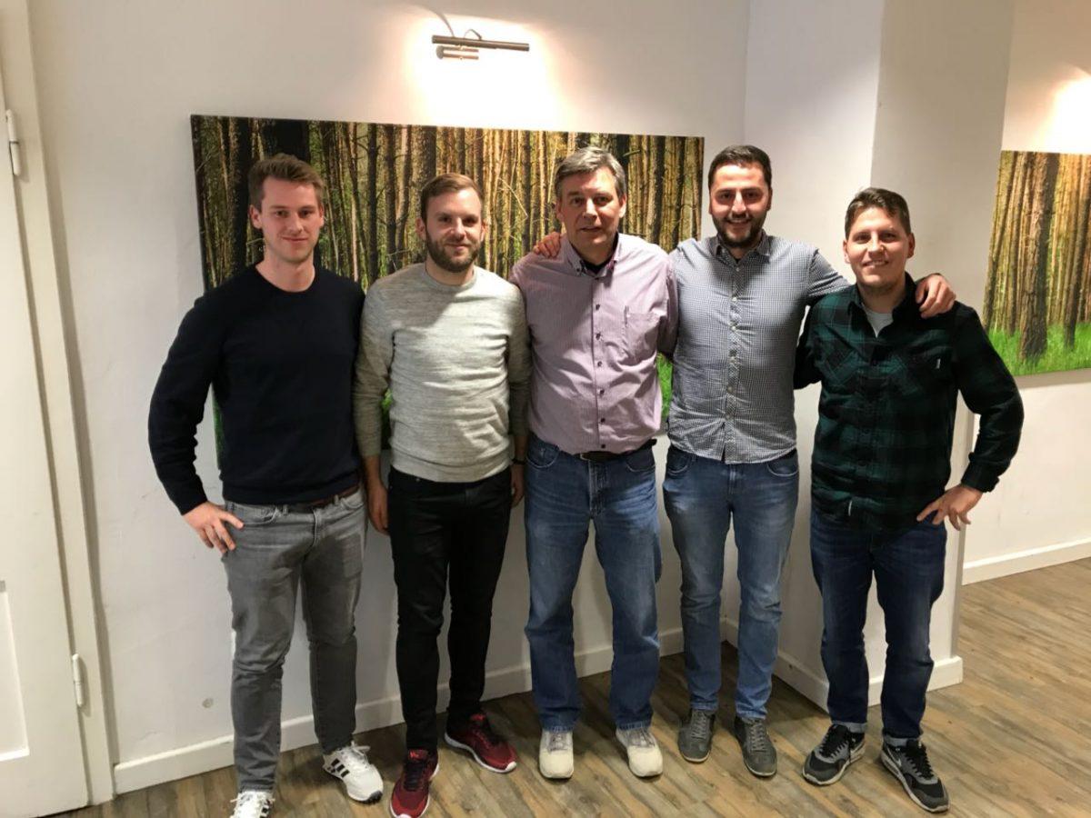Raderthal Kickers mit Änderungen im Vorstand